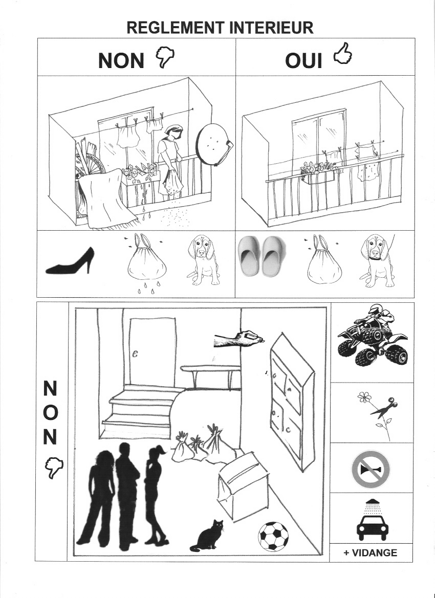 Blog ind pendant de la copropri t des cevennes for Reglement interieur immeuble